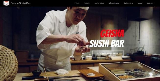 Site internet de démonstration, Restaurant de Sushis Japonais à Orléans (45000), Blois (41000), Beaugency (45190) et Lailly-en-Val (45740)